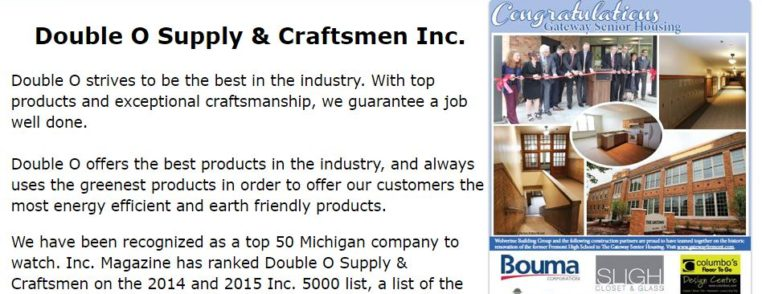 Double O Supply and Craftsment